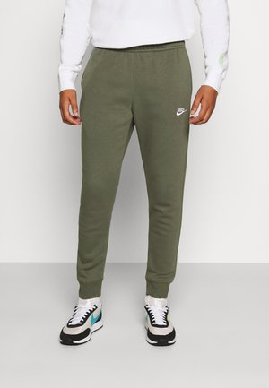 CLUB - Tracksuit bottoms - twilight marsh/white
