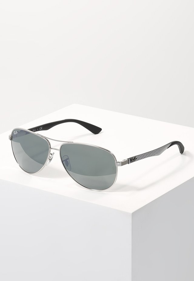 Sunglasses - silver/crystal grey mirror