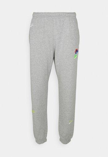 Pantaloni sportivi - dk grey heather