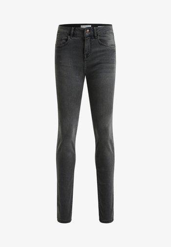 DAMES  - Slim fit jeans - light grey