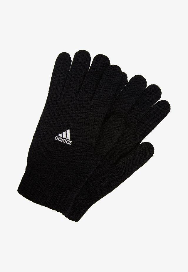 TIRO FOOTBALL GLOVES - Rękawiczki pięciopalcowe - black/white