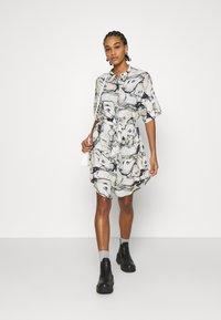 Monki - Košilové šaty - multi-coloured - 1