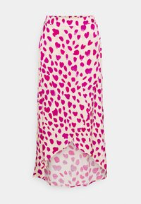 Fabienne Chapot - CORA SKIRT - Zavinovací sukně - white/pink - 5