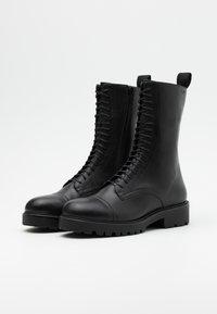 Vagabond - KENOVA - Lace-up ankle boots - black - 2