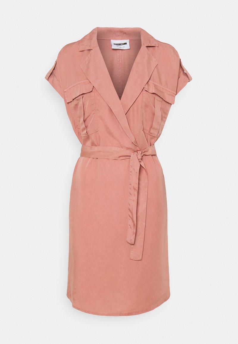 Noisy May - NMVERA ENDI SHIRT DRESS - Day dress - old rose