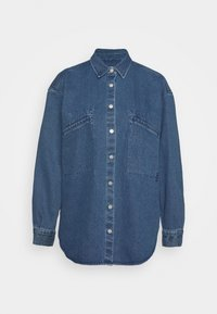 CLOSED - ALIZA - Button-down blouse - mid blue - 0