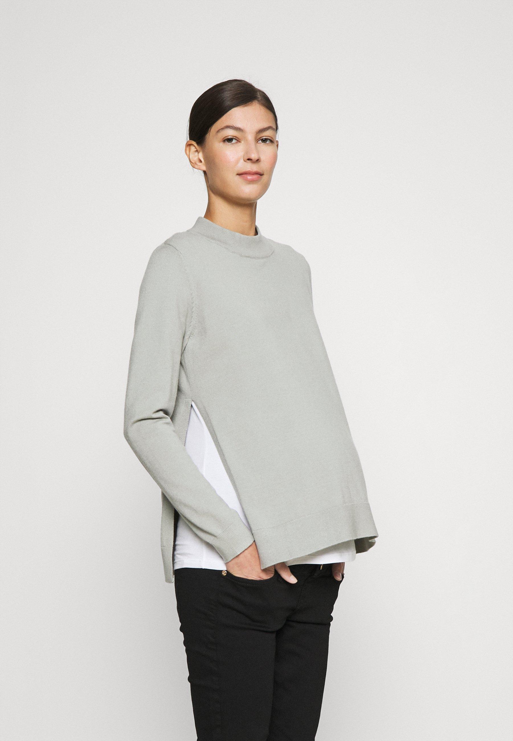 Femme MORGAN SIDE SPLIT NURSING - Pullover