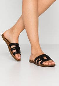 Pieces - PSANILLA - Mules - black - 0