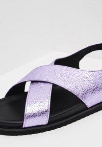 myMo - Sandalias - purple metallic - 6