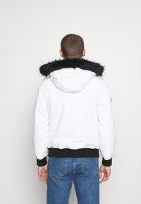INDICODE JEANS - SMU FRANK - Winter jacket - white - 2
