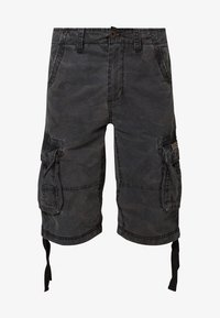 Alpha Industries - JET - Cargo trousers - black camo - 4