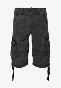 Alpha Industries - JET - Shorts - black camo - 4