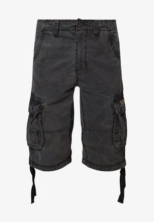 JET - Pantaloni cargo - black camo