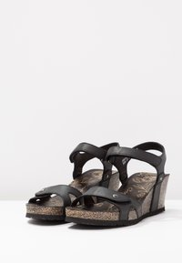 Panama Jack - JULIA BASICS - Platform sandals - black - 4