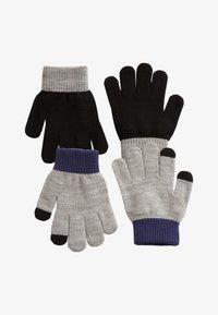 Next - 2 PACK - Gloves - grey - 0