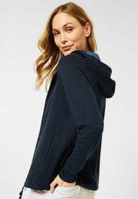 Cecil - Zip-up hoodie - blau - 1