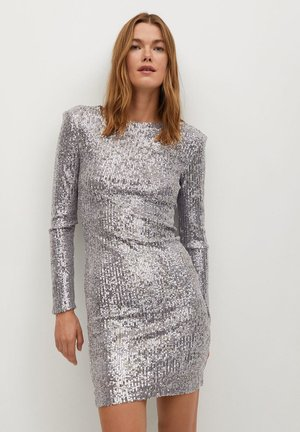 LENJUELA - Cocktail dress / Party dress - zilver