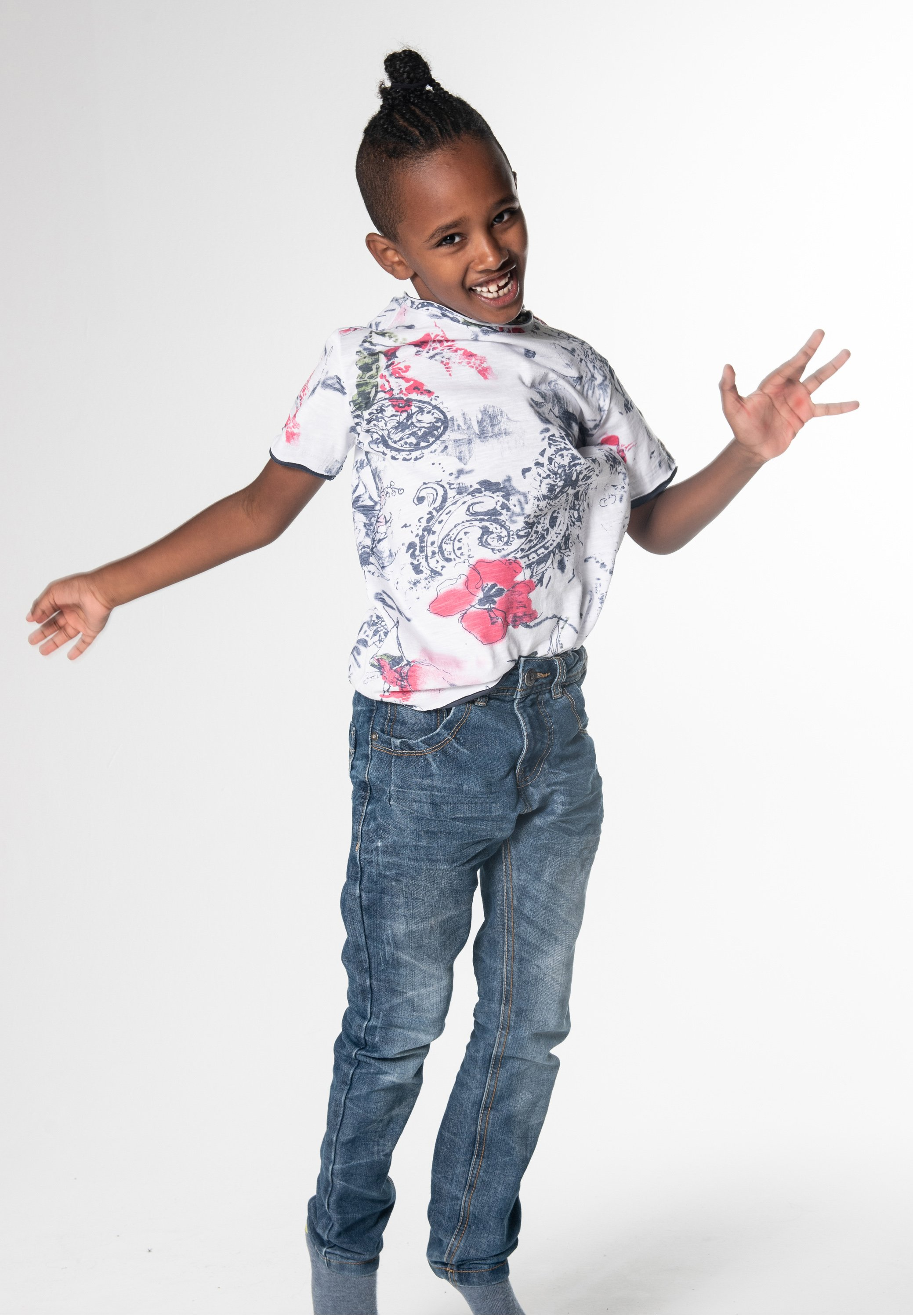 Kinder SUN ROUND - T-Shirt print