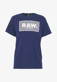 BOXED GR - T-shirt print - imperial blue