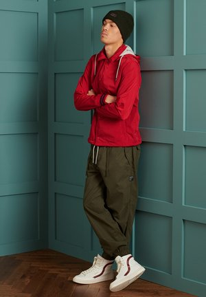 Training jacket - varsity red