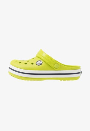 CROCBAND CLOG - Pantofle - lime punch