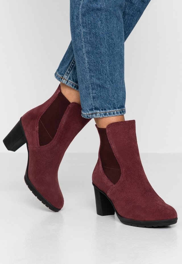 ADHARE - Bottines - bordeaux