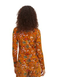 Scotch & Soda - PRINTED LONG SLEEVED HIGH NECK - Long sleeved top - orange - 2