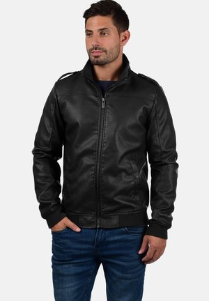 CONWAY - Faux leather jacket - black