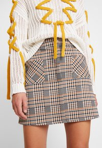 Dorothy Perkins - CHECK - A-line skirt - multi-coloured - 6