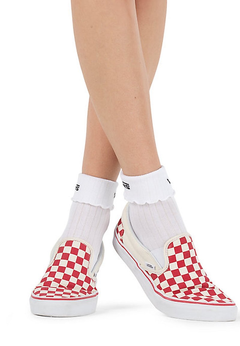 Vans - WM RUFFLE EDGE SOCK (6.5-10, 1PK) - Chaussettes - white