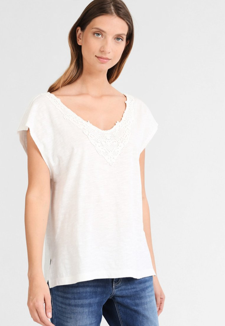 Factory Sale Women's Clothing usha Print T-shirt off-white gluzrOYbn