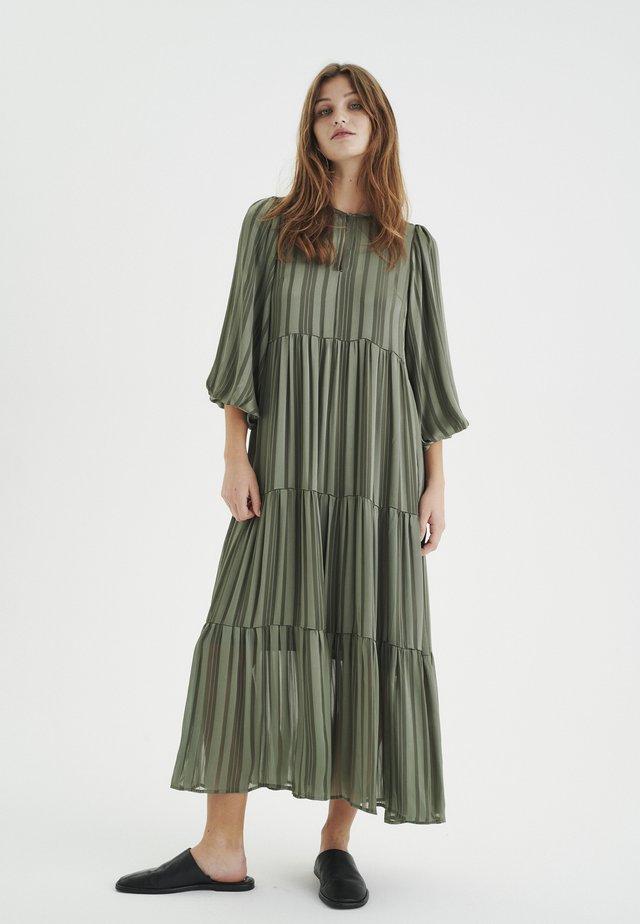 Robe longue - beetle green