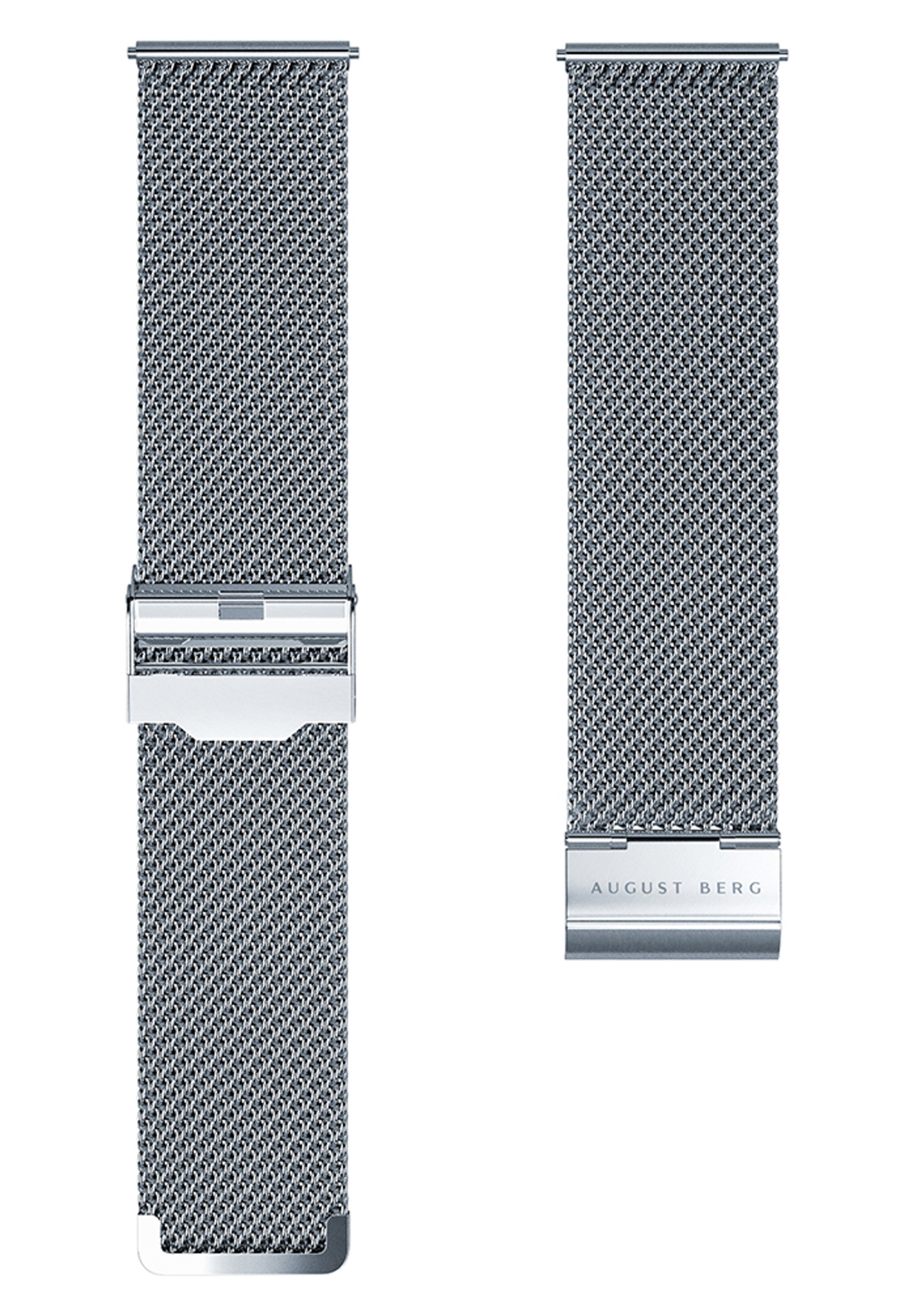 Homme UHR SERENITY GREENHILL SILVER EYE SILVER MESH 40MM - Montre