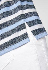 comma casual identity - Print T-shirt - dark blue stripes - 6