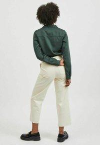 Vila - Button-down blouse - darkest spruce - 2