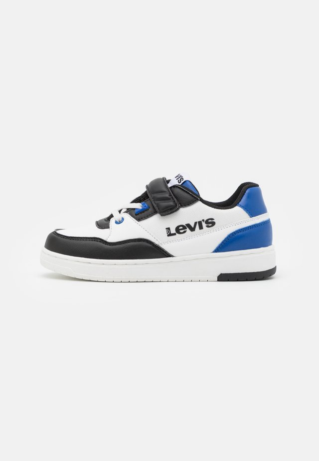 SHOT  - Trainers - white/blue