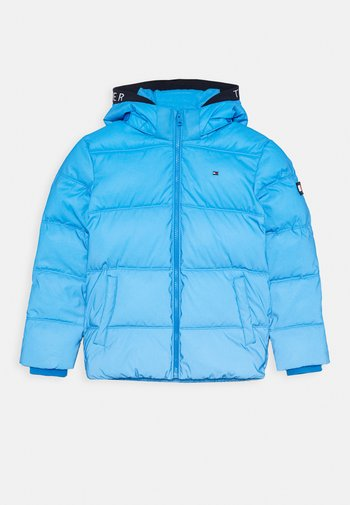 PADDED REFLECTIVE JACKET - Winter jacket - blue