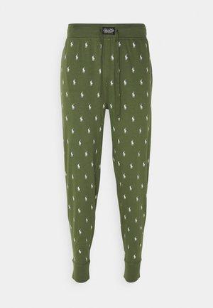 Pyjama bottoms - supply olive