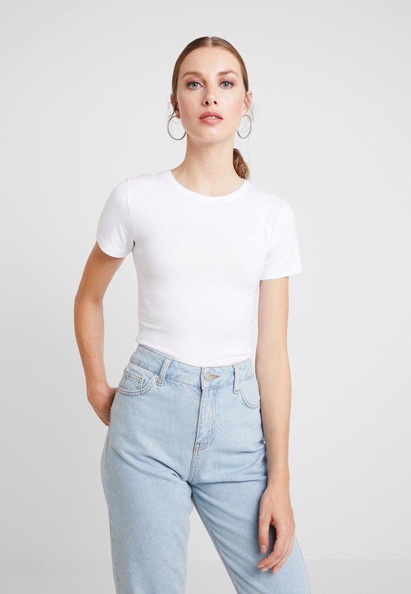 Modström - TRUE - Basic T-shirt - white