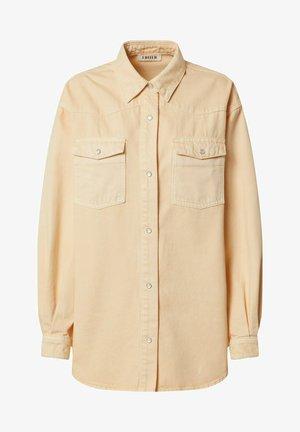 DANI - Button-down blouse - apricot