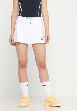 EVA SKORT - Sports skirt - white/navy