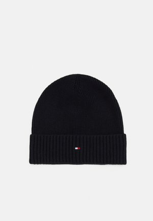 PIMA COTTON BEANIE - Bonnet - blue