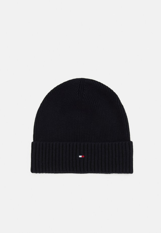 PIMA COTTON BEANIE - Mütze - blue