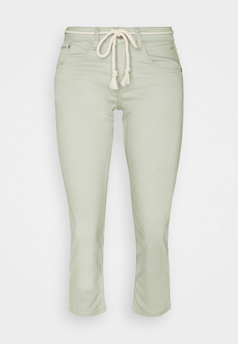 Cream - CRVAVA PANT COCO FIT - Trousers - desert sage
