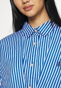 River Island - DAYNA ADJUST DRESS - Shirt dress - blue - 6