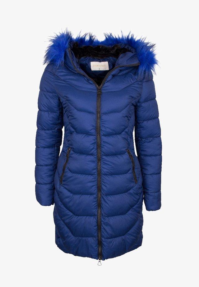 Zimní kabát - blue dark