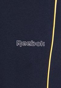 Reebok - TRAINING ESSENTIALS PIPING - Pantaloni sportivi - vector navy - 2