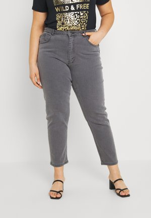 CARENEDA MOM ANKLE - Relaxed fit jeans - medium grey denim