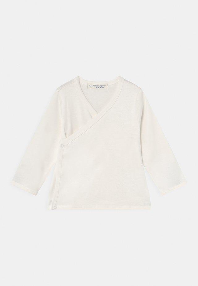 VICTORIA WRAP UNISEX - Cardigan - white