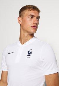 Nike Performance - FRANKREICH FFF MODERN - Article de supporter - white/dark obsidian - 3